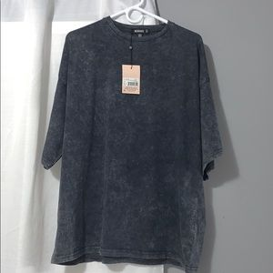 Brand new Oversized washed top
